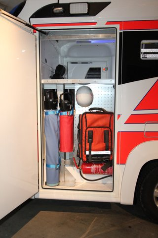 Pick-up Tamlans Ambulance