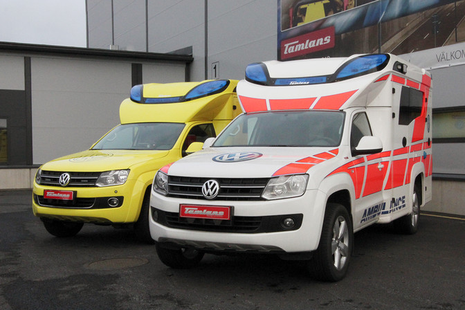 Pick-up Tamlans Ambulance
