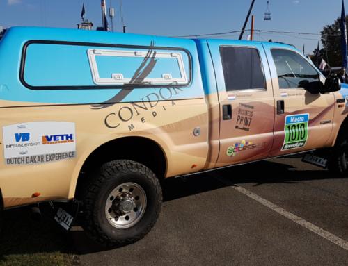 Veth Automotive richt Dakar voertuig Condor Media in voor Dakar Rally 2017