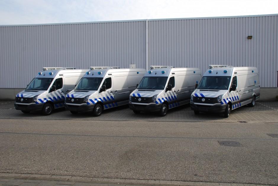 Ministerie van defensie speciale voertuigen