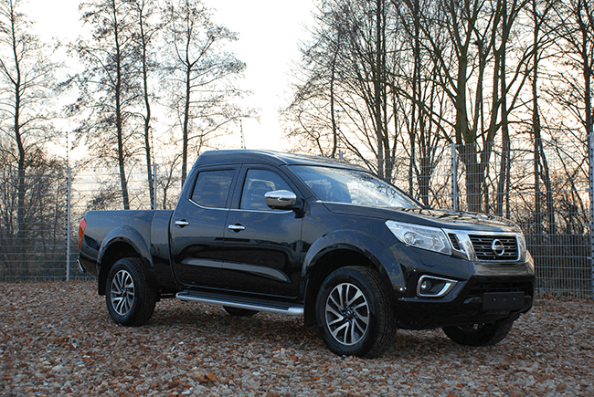 Pick-up verlenging Nissan NP300 Dubbel cabine XL
