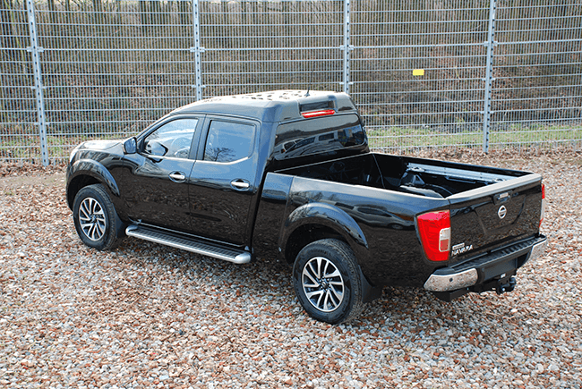 Pick-up extensions Nissan NP300 Dubbel cab XL back
