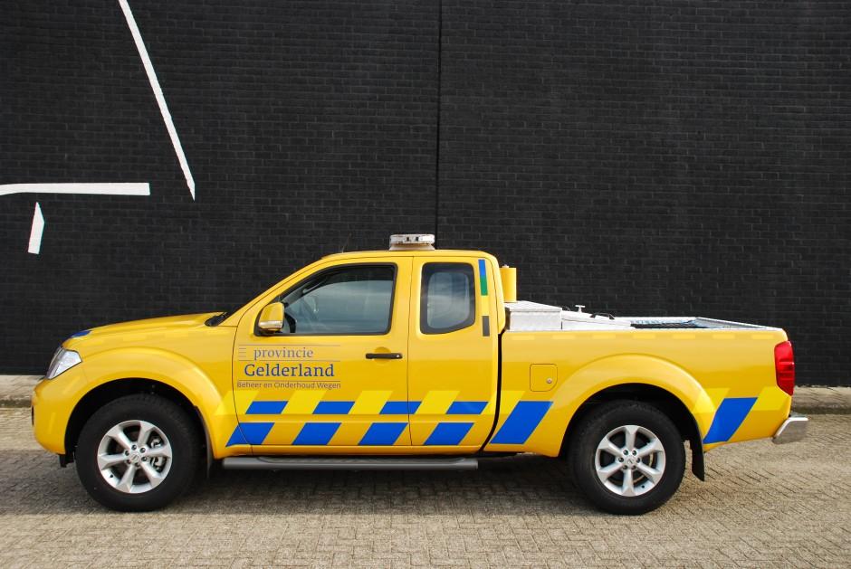 Speciale inrichting pick-up provincie gelderland