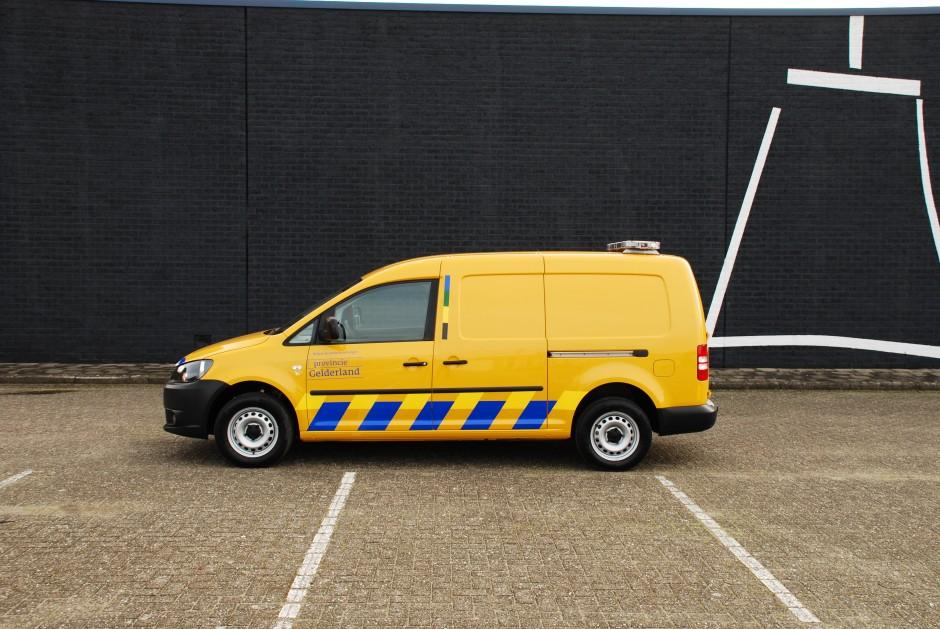 Speciale inrichting bestelwagen provincie gelderland