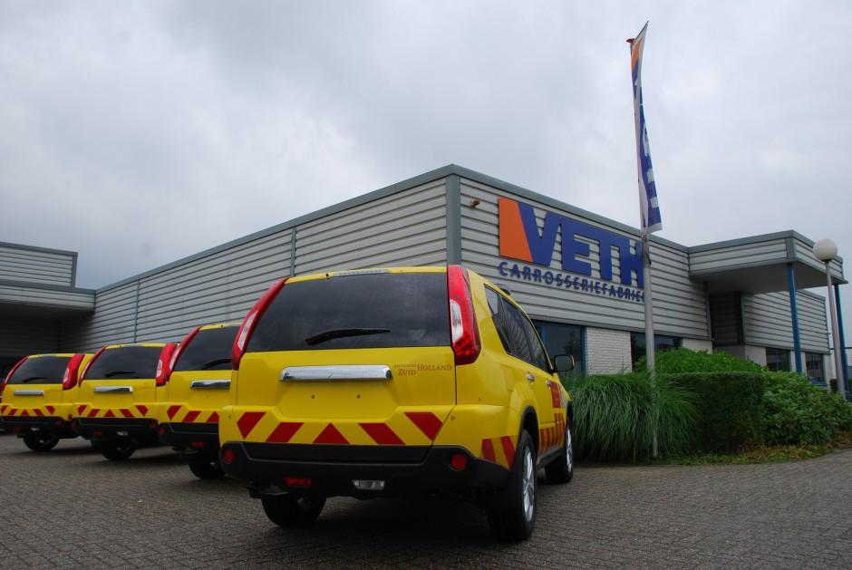 Speciale voertuigen provincie Zuid-Holland