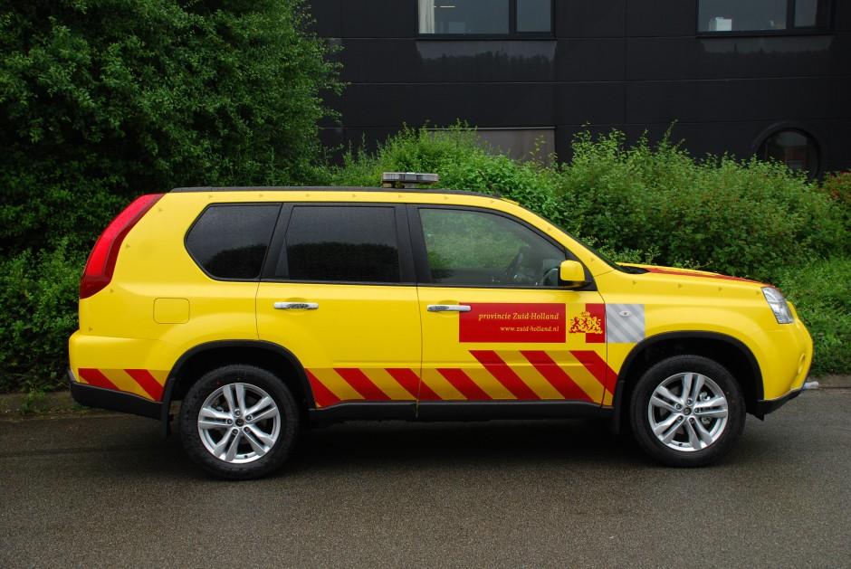 Speciaal voertuig provincie Zuid-Holland