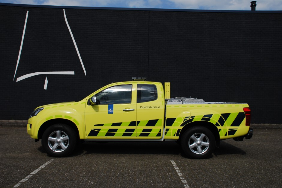Rijkswaterstaat pick-up speciale voertuigen