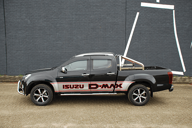 Pick-up verlenging Isuzu D-max DC XL