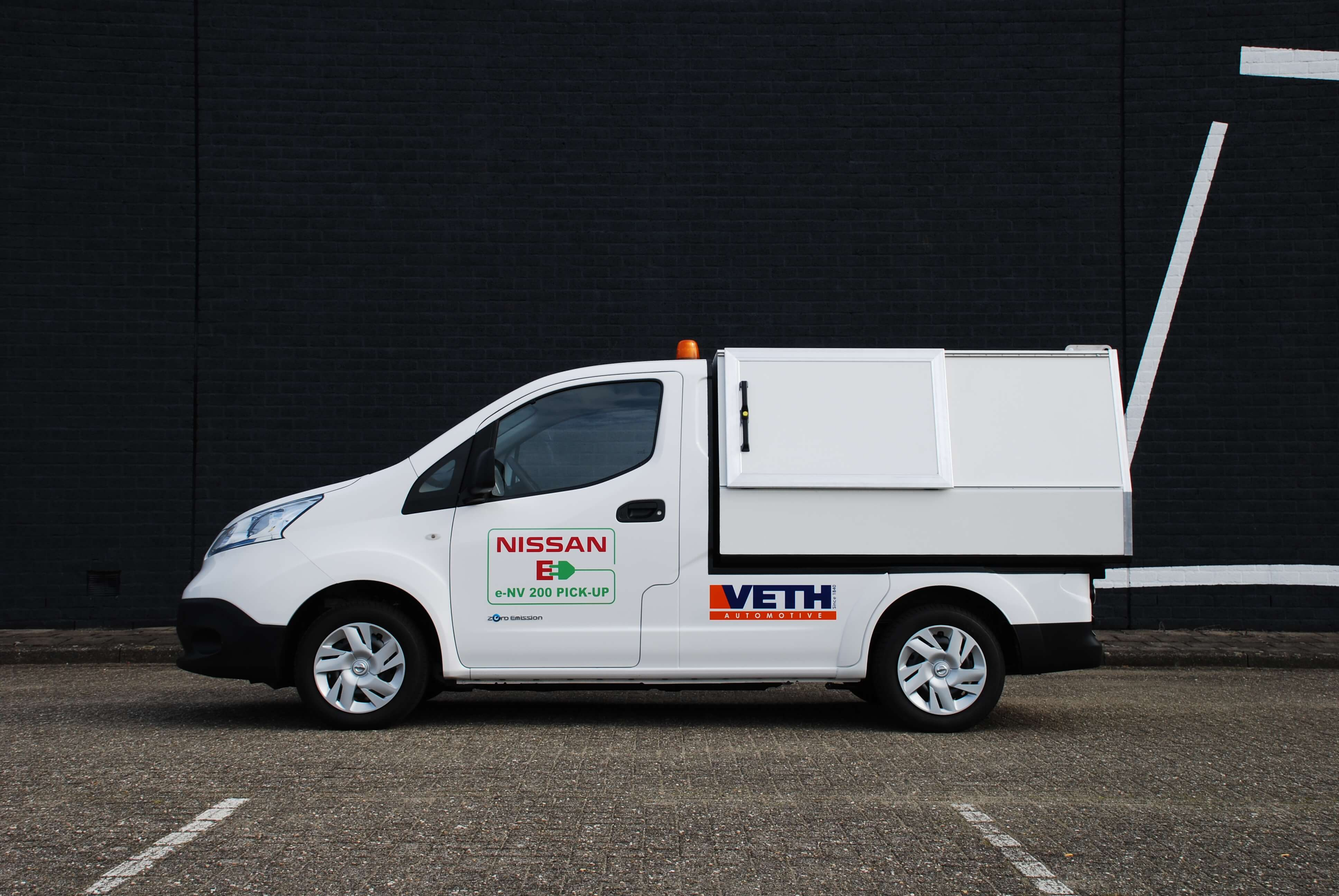 vehicle conversions e-nv200 dust sweeper