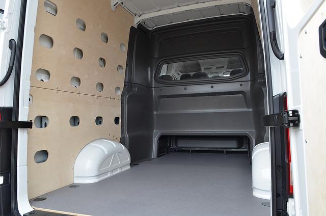 bedrijfswageninrichting dubbele cabine
