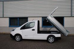 vehicle conversions e-nv200 tipper