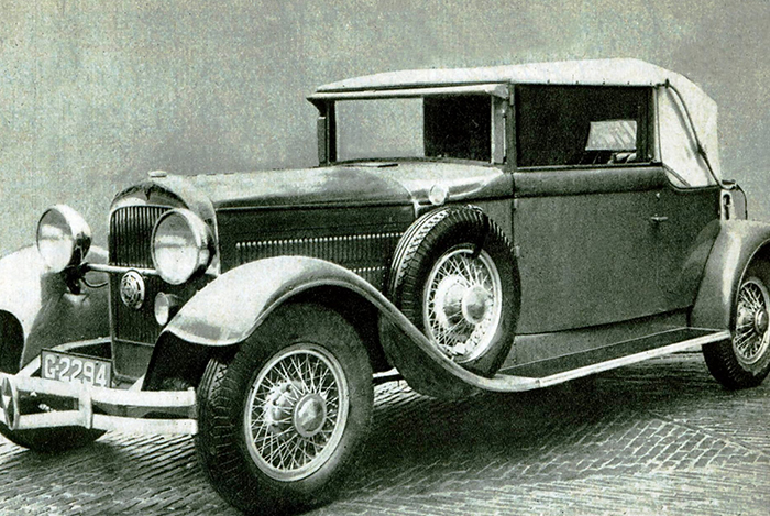 1890 -1935 Assembly of passenger cars and LCV