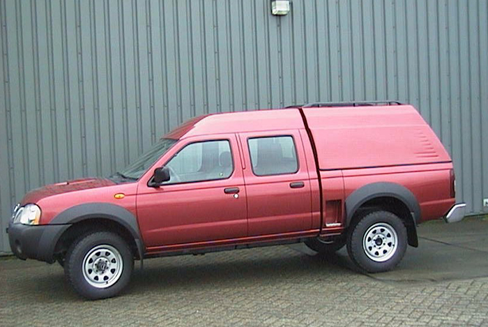 1994 Wheelbase extension of pick-ups