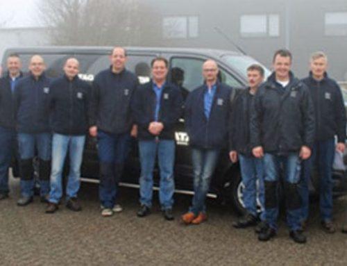 Auslieferungen Lieferwagen mit Bott Vario für ATAG