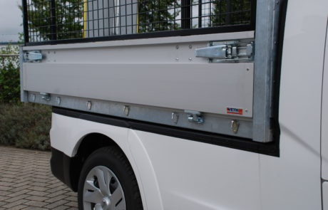 vehicle conversions e-nv200 pick-up dropside